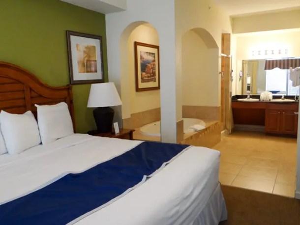suíte principal do apartamento no Lake Buena Vista Resort em Orlando