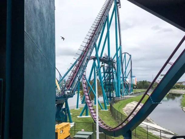 Mako a montanha russa mais alta, mais rápida e mais longa de Orlando