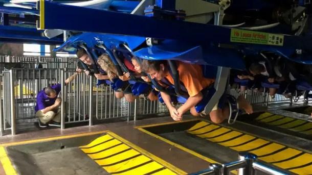 Andando na Manta no SeaWorld Orlando