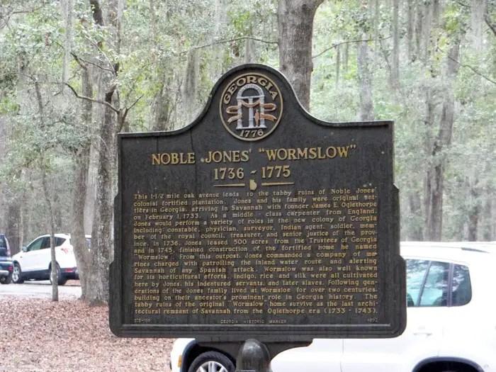 Wormsloe Historical Site Savannah Georgia