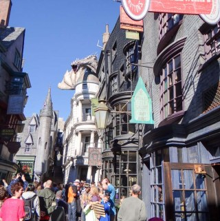 Beco diagonal - Universal Studios Florida