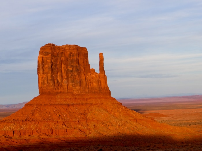Pôr do Sol no Monument Valley