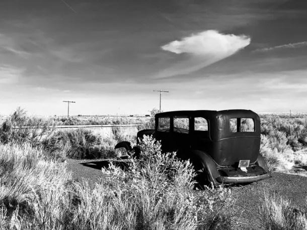 Rota 66 - Petrified Forest National Park - Arizona