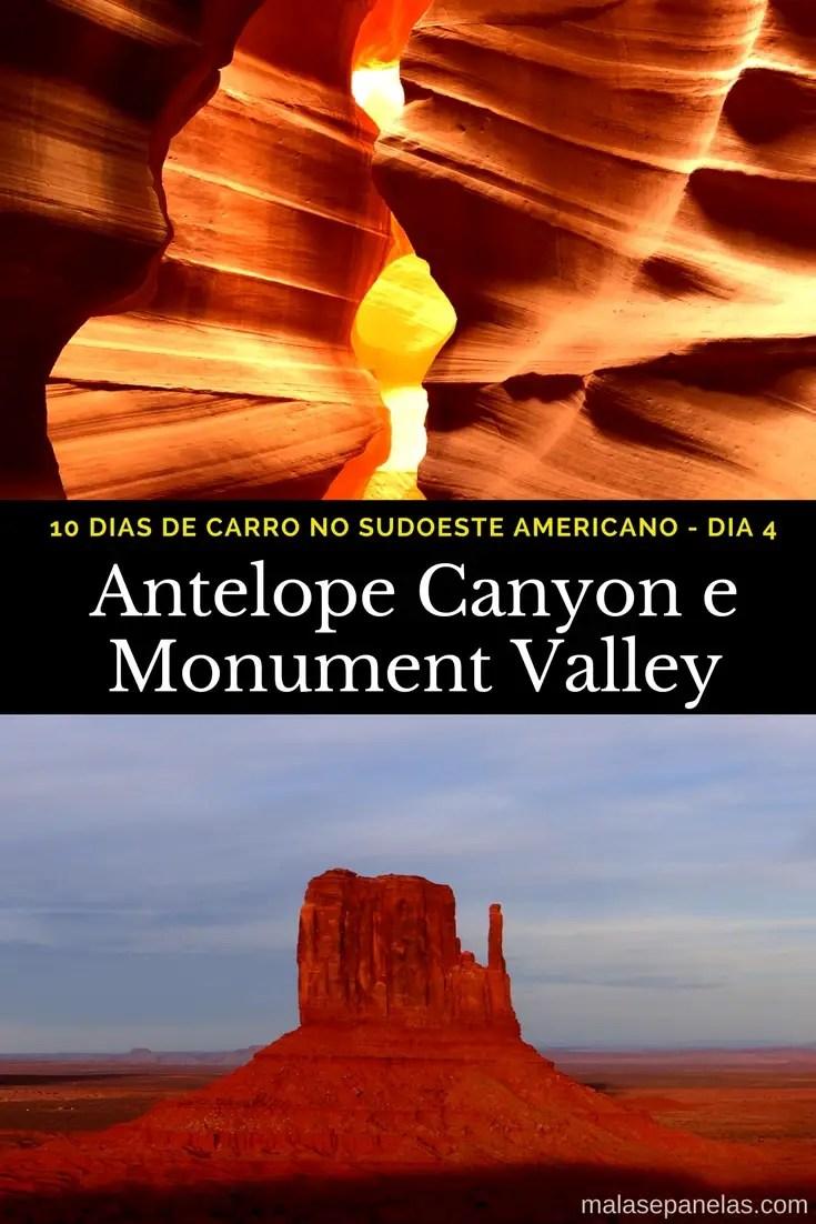 Roteiro de 10 dias no sudoeste americano - Antelope Canyon e Monument Valley