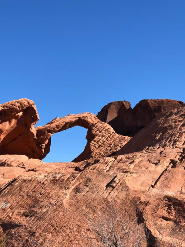 Arch Rock no Valley of Fire State PArk