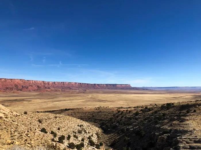 Vermillion Cliffs na US 89A