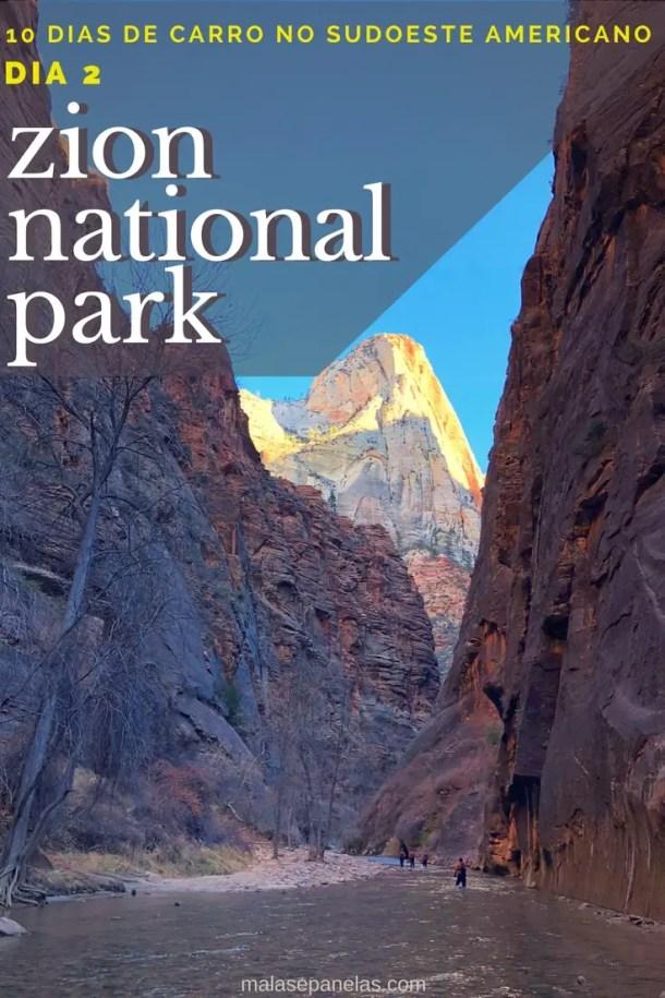 10 dias de carro no sudoeste Americano - Dia 2 - Zion National Park