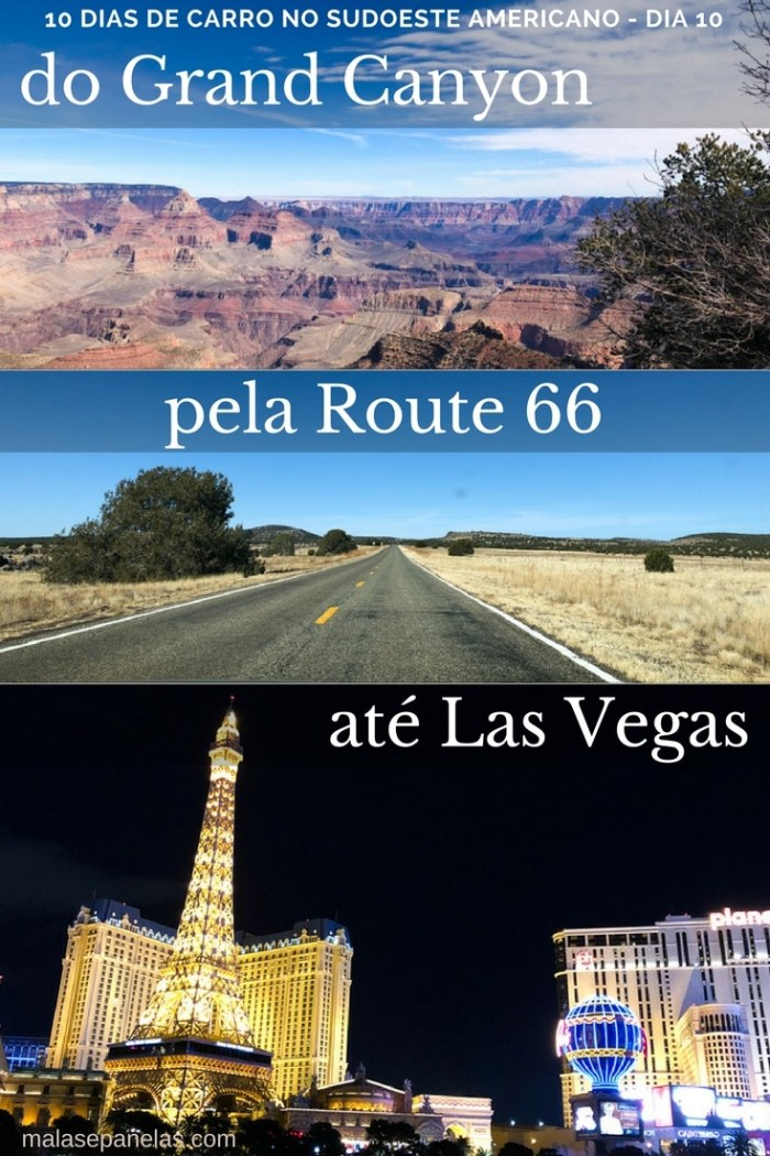 Do Grand Canyon a Las Vegas pela Route 66