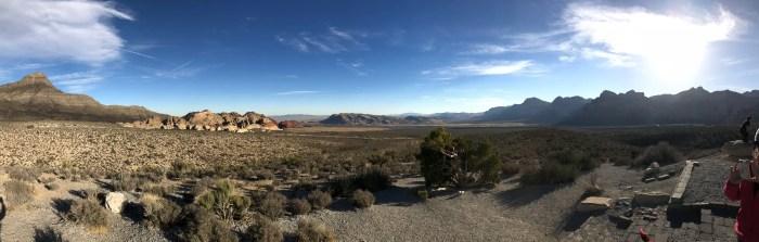 Panorâmica do Red Rock Canyon