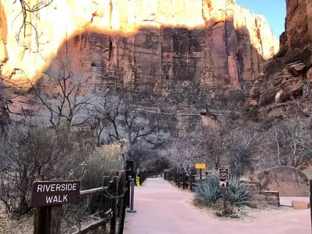 Riverside Walk | Parque Nacional de Zion