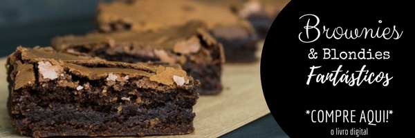 receitas de brownies e blondies