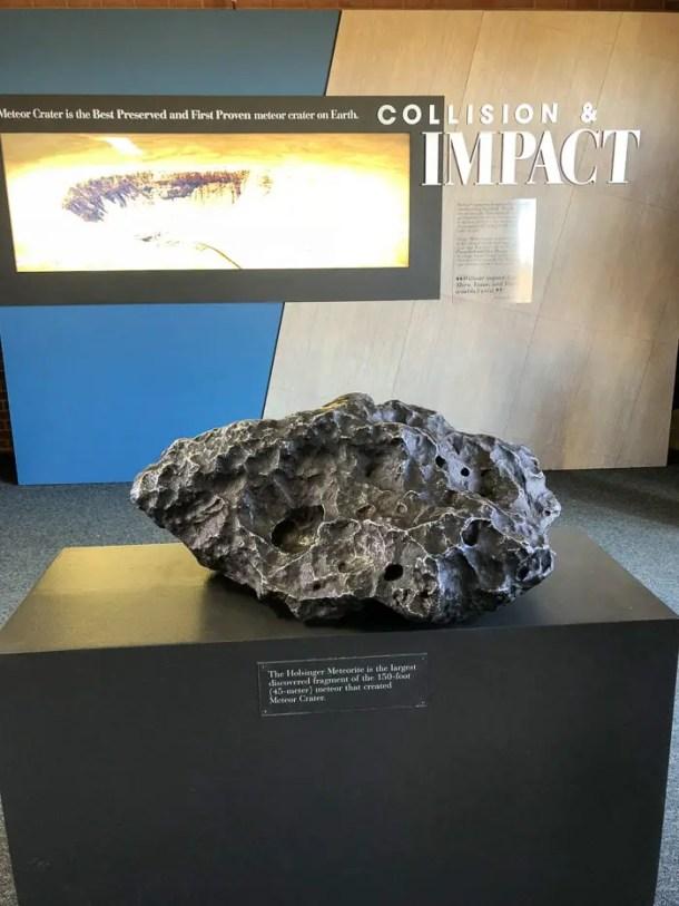 Pedaço de meteorito
