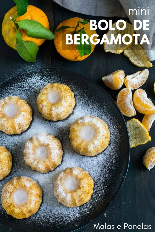 {mini} Bolo de Bergamota | #bolo #bergamota #doce