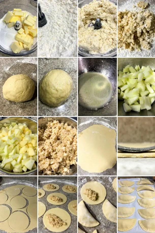 Como fazer mini tortas de maçã