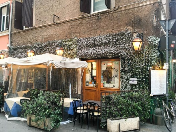 Alle Frate di Trastevere - Where to eat in Rome on a budget   Travel Cook Tell