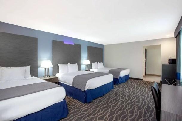Hotel barato Disneyland Califórnia