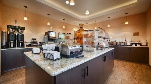 Hotel com café da manhã na disneyland california