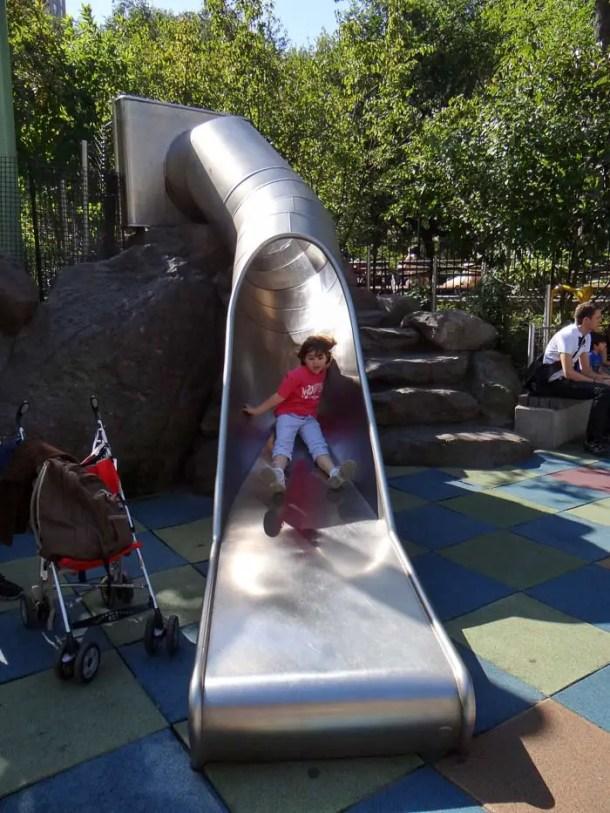 O que fazer em Nova York com crianças - Playgrounds