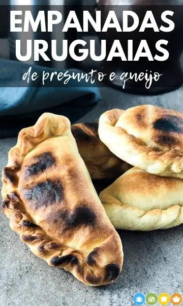 Empanadas Uruguaias de Presunto e Queijo | Malas e Panelas