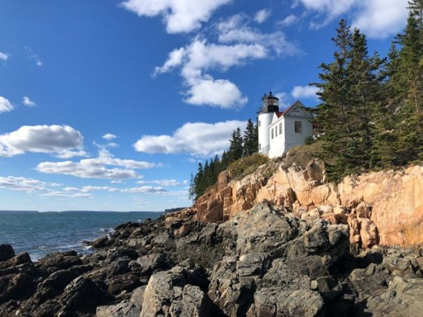 20 Great Places to Take Pictures in New England - Bass Harbor Head Lighthouse, Tremont, Maine | Travel Cook Tell