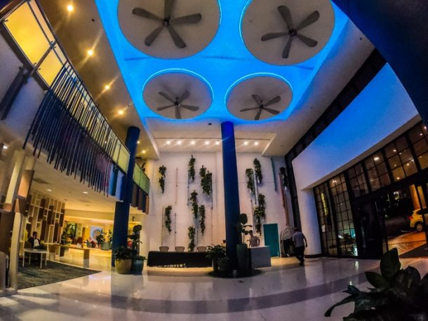 Lobby do Sheraton Miami Airport