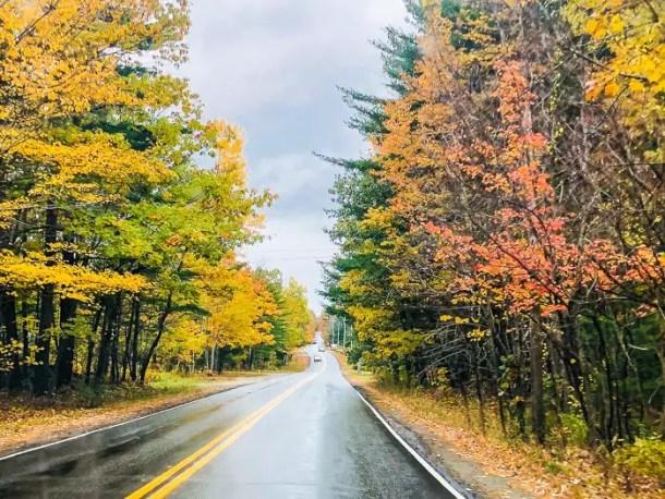estrada na nova inglaterra