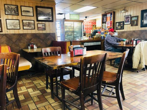 Koffee Kup restaurant - Hico, Texas