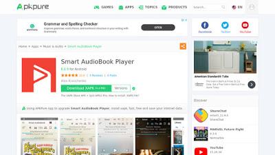 نبذة مختصرة عن تطبيق Smart AudioBook Player
