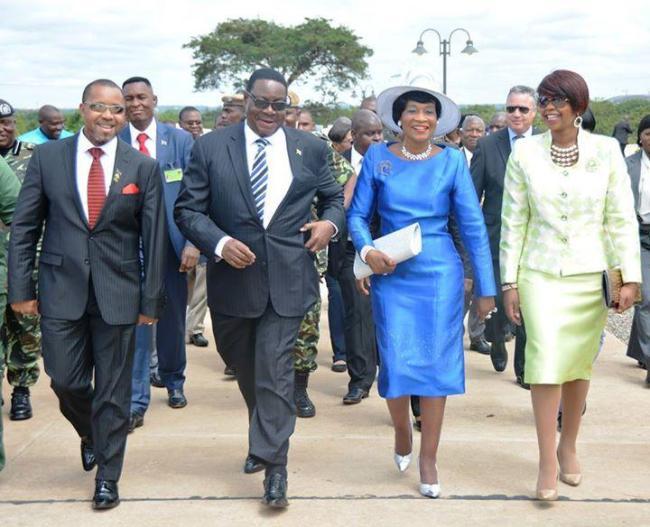 Peter Mutharika+Saulos Chilima+Gertrude Mutharika