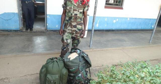 Malawi Soldier