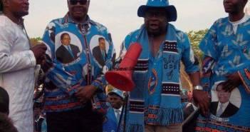 Goodal Gondwe & Peter Mutharika
