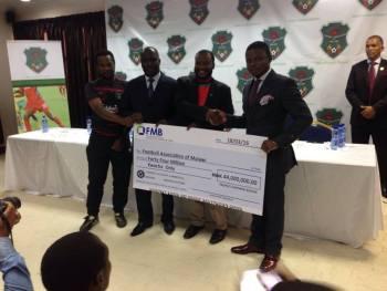 Bushiri donates K44m to the Flames