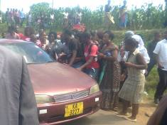 Drama at Grace Chinga burial