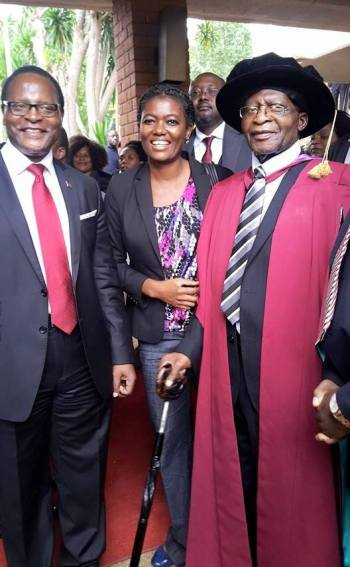 John Tembo awarded honorary doctorate