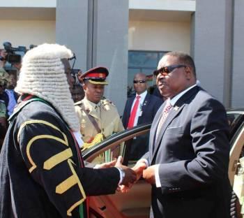 Malawi President Mutharika