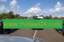 Mutharika's convoy