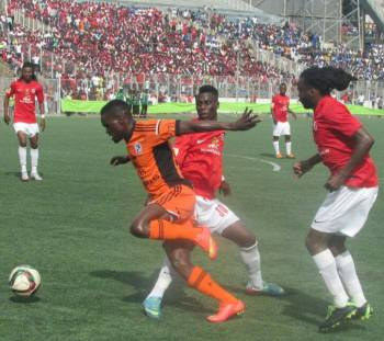 Peter Wadabwa (In orange) has been in fine form.