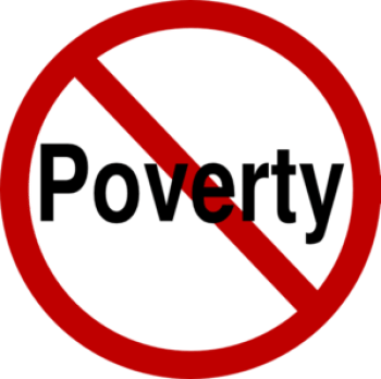 no to poverty