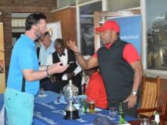 Michael Nevin with Saulosi Chilima