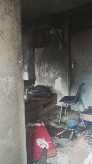 Malawi Police sets ablaze University Student (5)