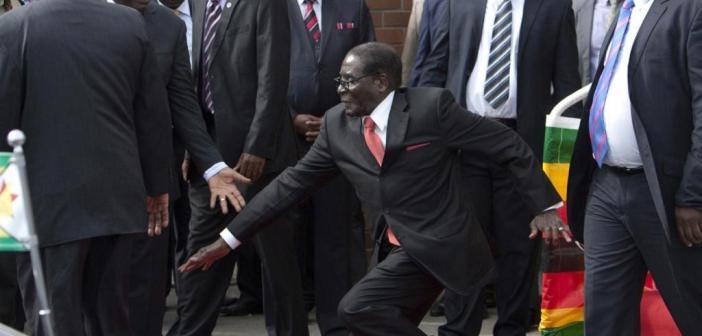 Robert Mugabe falls Zimbabwe