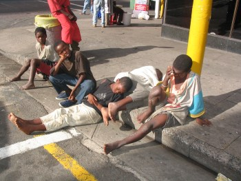 Beggars to get money. (Image credit: venturesafrica.com)