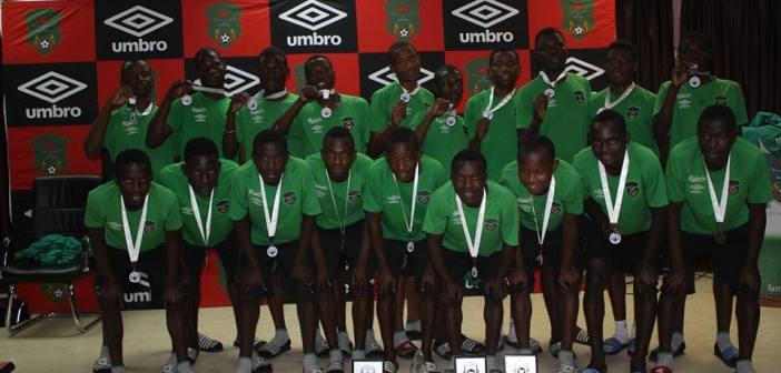 Malawi U-17 team