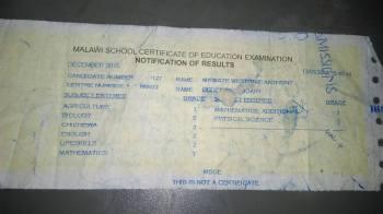 Impressive MSCE results for Mkwate.