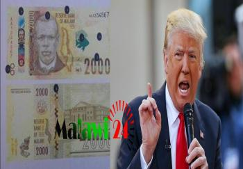 And they choose to call the bank note 'Chi Trump.,