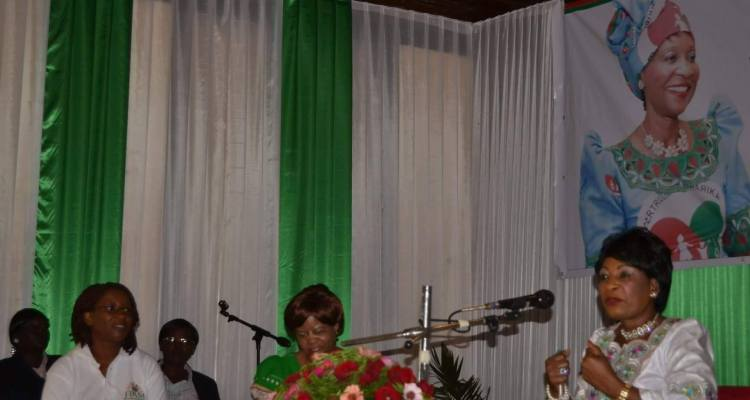 First Lady Gertrude Mutharika