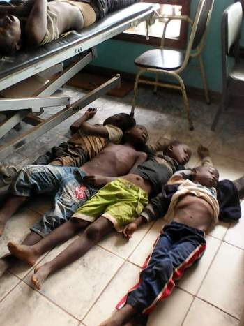 Malawi Independence stamped  leave 7 children dead