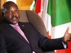 Burundi President Pierre Nkurunziza