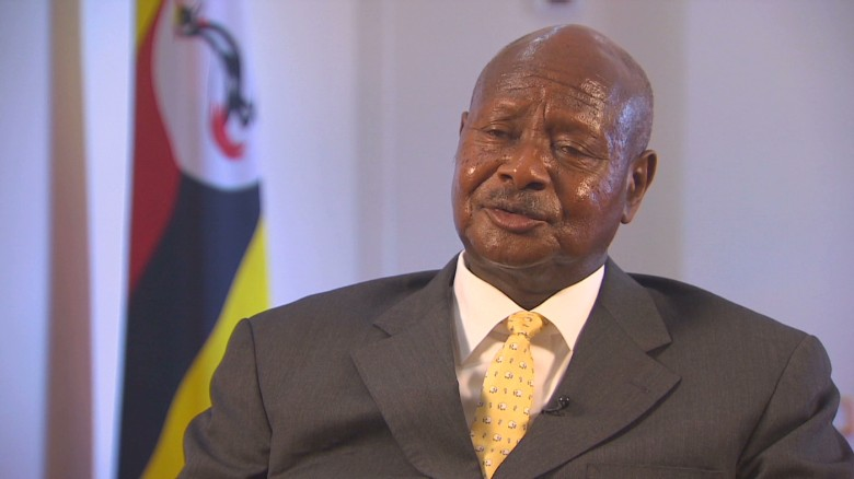 I love Trump for being frank with Africans: Uganda president