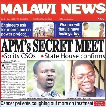 Malawi fake news